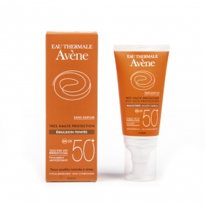 AVENE EMULSION PROTECTORA CON COLOR 50+ 50 ml