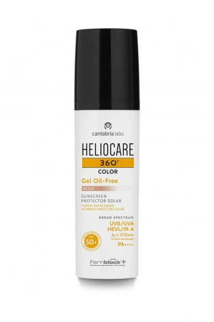HELIOCARE 360 GEL OIL FREE 50+ BEIGE 50ml