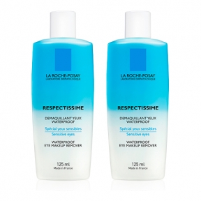 LA ROCHE PACK RESPECTISSIME OJOS WATERPROOF2X125ml