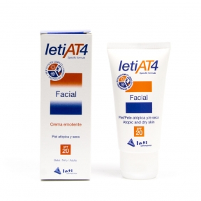 LETI AT4 CREMA FACIAL SPF20 50 ml