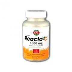 REACTA-C (VITAMINA C) 1000MG 60 comprimidos