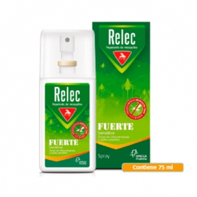 RELEC SPRAY REPELENTE INSECTOS FUERTE 75 ML