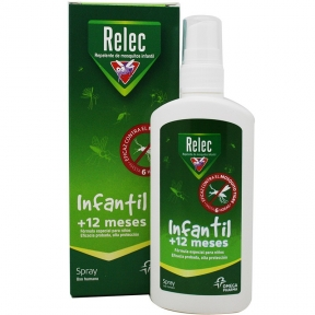 RELEC SPRAY REPELENTE INSECTOS INFANTIL+12M 100ML