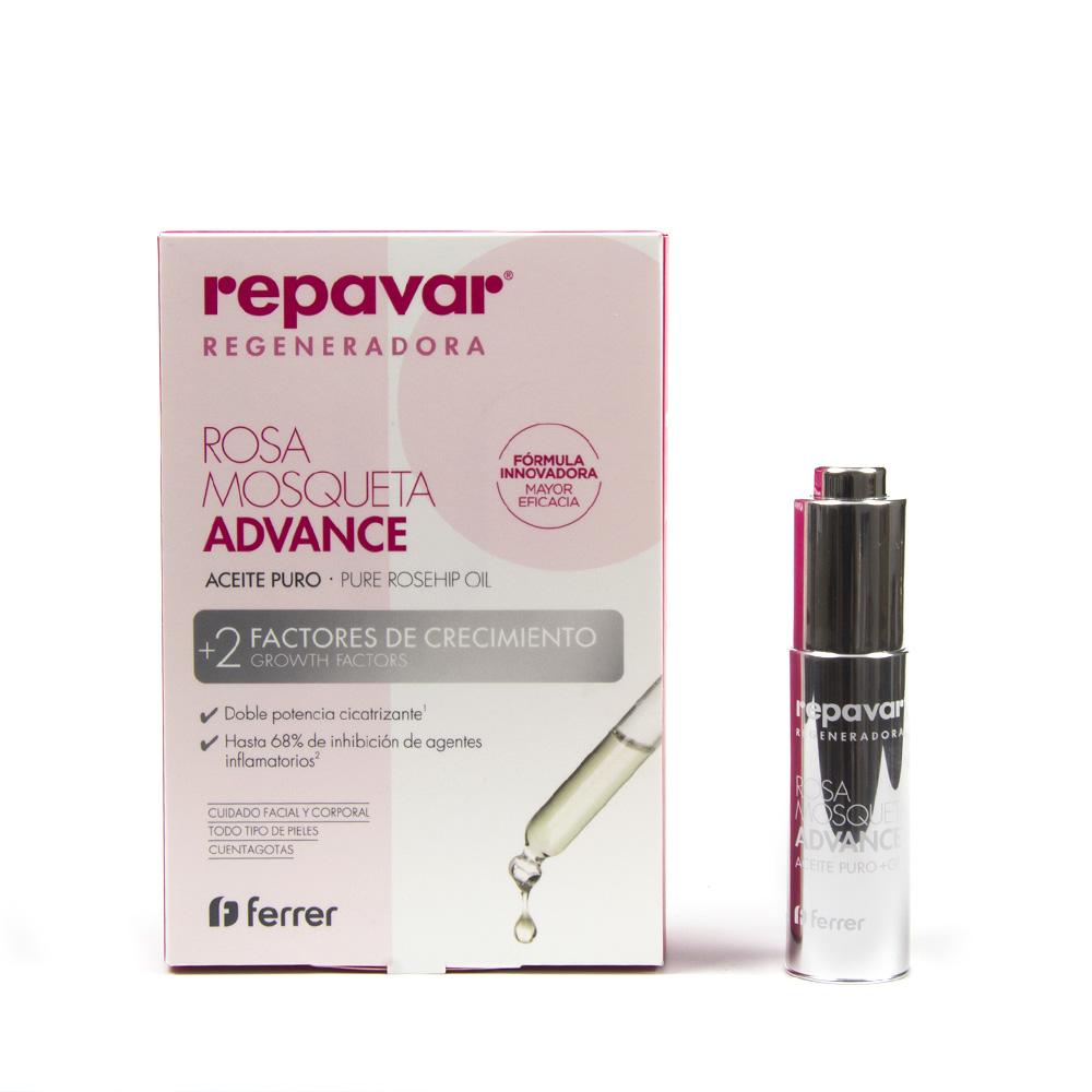 Repavar rosa mosqueta advance aceite 15ml product description - Repavar Rosa Mosqueta Advance Aceite 15ml Product Description 2