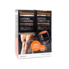 THIOMUCASE PACK STICK 1+1 HOMBRE 75+75ML